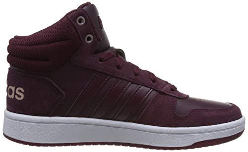 Para maroon ftwwht ftwwht Maroon De Baloncesto Mujer 2 Zapatos Rojo Hoops 0 maroon Adidas Mid maroon 0xwqT1Spp
