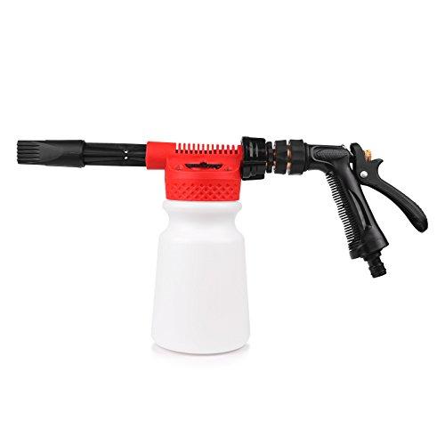 LemonBest® Foam Gun Schaumkanone, Foam Gun Washing Foamaster Gun Wasser Seife Shampoo 900ml Sprayer