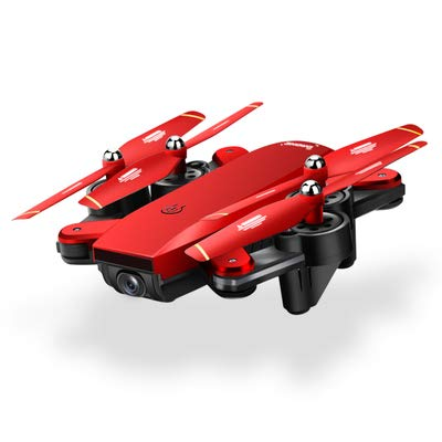 XB HD Camera, Best Drone for Beginners with Altitude Hold, G-Sensor, Trajectory Flight, 3D Flips, Headless Mode, One Key Operation(720p) Red (Best Drone Under 1000 Rs)