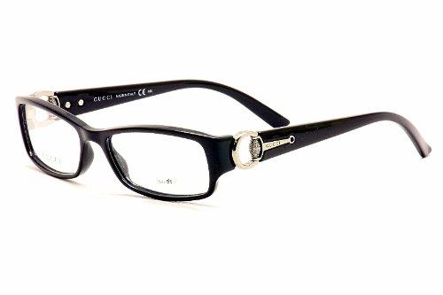 0f8fab992c Gucci Eyeglasses 3553 0D28 Shiny Black 52MM  Amazon.ca  Watches