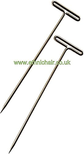 T Pins a set of 10 (2 inche long) JazzyBrand