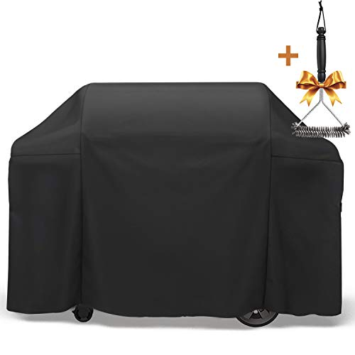 SHINESTAR 7131 Grill Cover for Weber Genesis II Grill, 65 Inch Grill Cover for Weber Genesis 4 Burner Grill, Fit for Weber Genesis II 410/435/410 Grill, Fit for Char-Broil Nexgrill Brinkmann and More