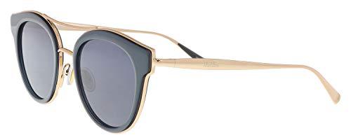 Max Mara Women's Mm Ilde Iv Polarized Oval Sunglasses, GREY, 48 ()