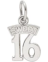 Rembrandt Sterling Silver Sweet 16 Charm