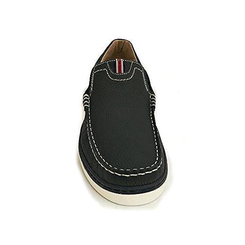 7fe2257a827 new Zerimar Chaussures Bateau en Cuir pour Homme Grande Taille Chaussures  pour homme