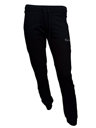 Pantalone Sportivo Donna TWO PLAY Pant.di Tuta in Felpina Stretch Nero tg XL