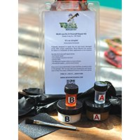 Wood Wizzards WWSAMPLE Waterproof Sample Kit, 1 oz