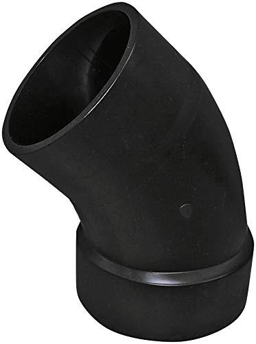 Genova Products 82730 ABS-DWV 45-Degree Street Elbows, 3 by Genova