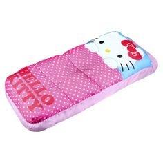 Disney Hello Kitty lunares Kid s saco de dormir