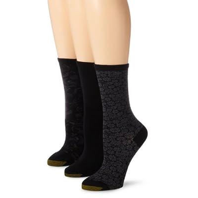 Gold Toe Women's Fashion Pack D at Women's Clothing store: Dress Socks