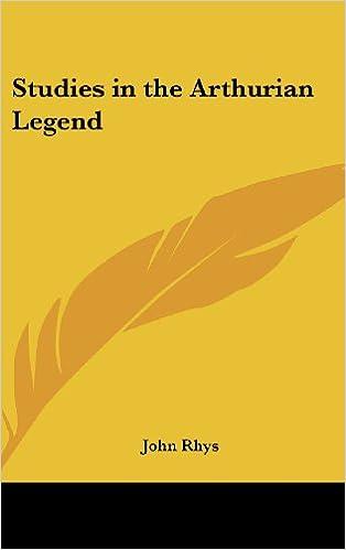 Book Studies in the Arthurian Legend