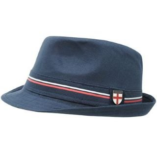 England Trilby Hat Mens Navy Mens  Amazon.co.uk  Clothing 33fe84f0ca6