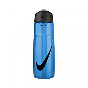 Nike T1 Flow Swoosh Water Bottle (24oz, Game Royal/Obsidian)