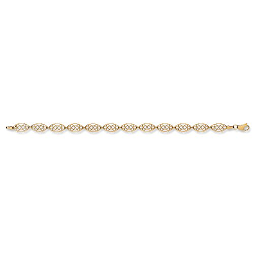 9 ct or jaune Bracelet de style celtique 4.0 G