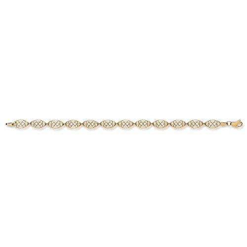 9ct or jaune Bracelet de style celtique 4.0G