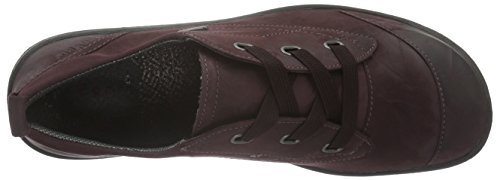 LegeroMILANO - Zapatos con cordones para mujer Rojo (mahagony 72)