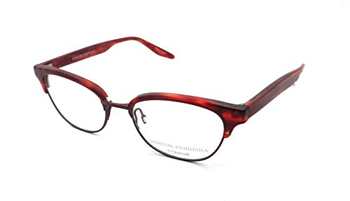 Barton Perreira RX Eyeglasses Frames Estelle 49x17 Matte Tuscan Tortoise / - Perreira Barton Eyeglasses