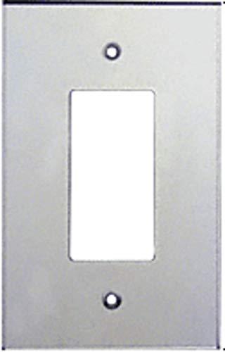 CRL Single Decora Acrylic Mirror Plate - Clear