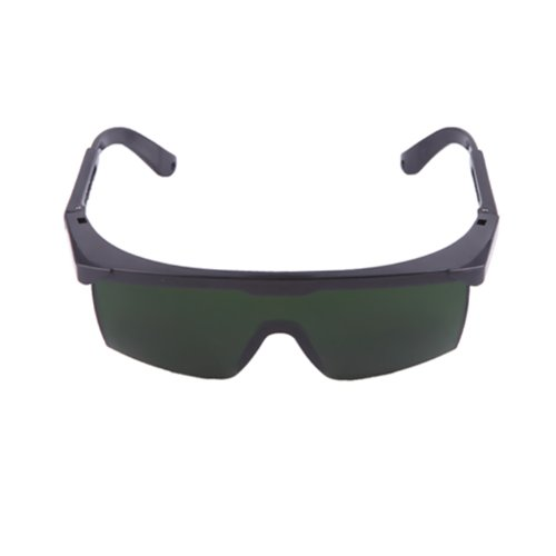 HDE Laser Eye Protection Safety Glasses for Red and UV Lasers with Case (Green)