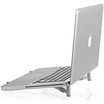 Arkscan LS22 Laptop Stand for MacBook and Notebook, Aluminum Ergonomic Lightweight Adjustable Portable Cooling Stand for 12 inches to 17 inches Computer ...