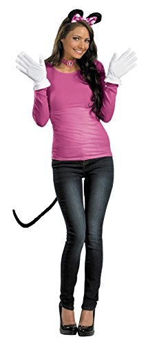 Costumes For All Occasions Dg23431 Minnie Mouse Kit Pink (Minnie Mouse Adult Outfit)