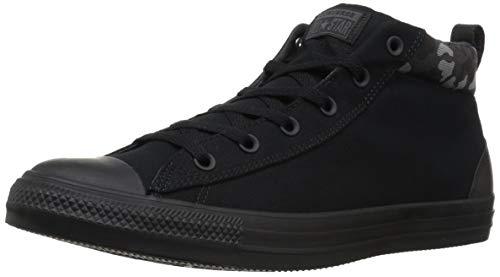 Converse Sneaker CTAS Street Mid Black, 11 M - Converse Mid Men Top