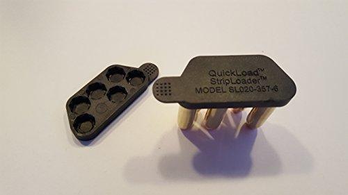 QuickLoad Speedloader, StripLoader (2) for 6-Shot Revolvers