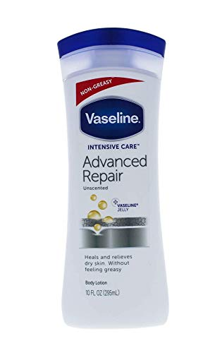 Vaseline hand and body lotion Advanced Repair Unscented 10 oz