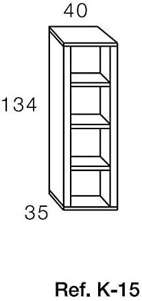 Hevea Kronos 115 - Mueble para TV (6 Elementos): Amazon.es: Hogar