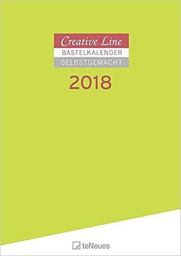 Bastelkalender 2018 - Creative Line, Kalender Selber Gestalten