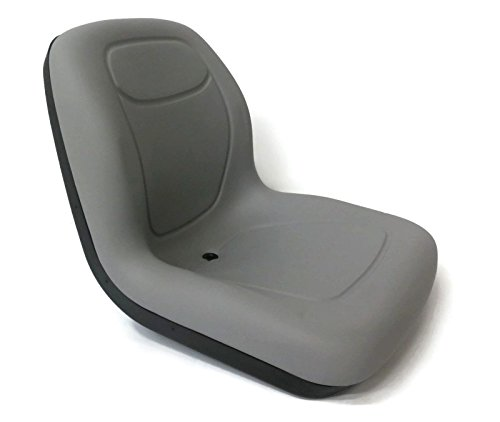 (The ROP Shop Grey HIGH Back SEAT for Dixon ZTR Zero Turn Lawn Mower Tractor - Made in USA)