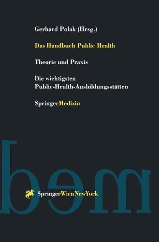 Das Handbuch Public Health