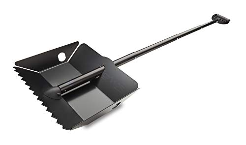 DMOS Alpha 2 Shovel - Strong, Stowable, High-Performance, Perfect for Car/Truck, Snow, Survival, Camping, Off-Road, Emergency, and Other Outdoor Activities
