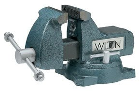 Wilton 21300 4 inch 740 Series Mechanics Vise W/ Swivel Base by Wilton (Image #1)