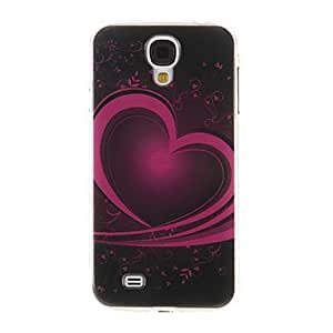 GX Modelo del corazón del arte de la cubierta del caso plástico duro de protección trasera para Samsung Galaxy S4 i9500