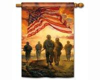 MagnetWorks MAIL99675 American Heroes Standard Flag