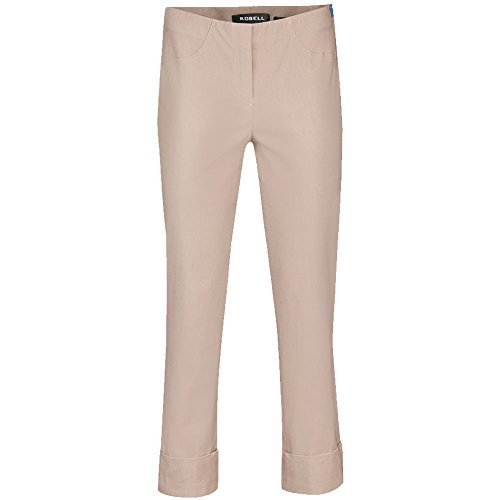 Robell Bella Winter Slim Fit 7/8 Stretchhosen Schlupfhosen Damen Hosen #Bella versch.Farben innen angerauht