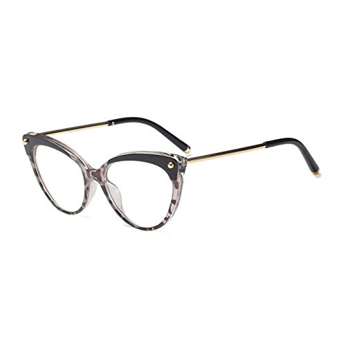 Frame Ymtp Pink Gray Retro clear Black Cat Eyeglasses Eye Frames ...