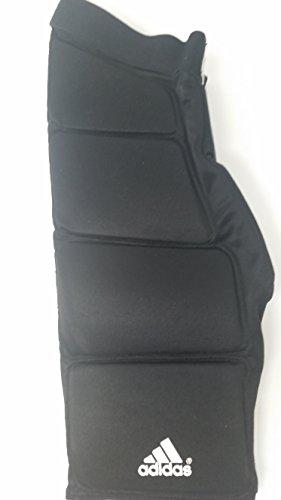 adidas New 7390107 Adult X-Large Black Goalie Protective Pants GP.209 Lacrosse by adidas (Image #1)