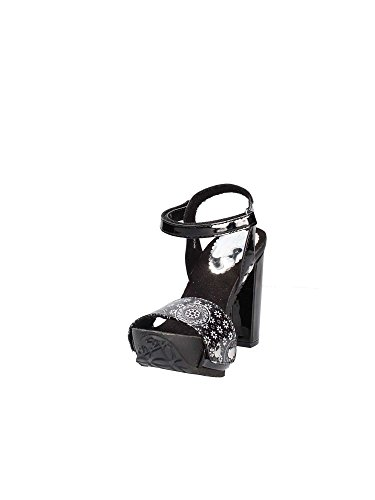 High 18SSHP56 Sandals Women Black Desigual Heeled wzqR5qY