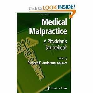 Medical Malpractice: A Physician's Sourcebook ebook