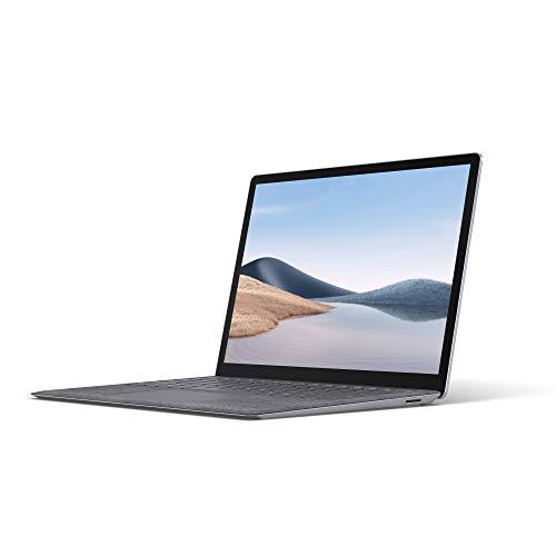 Microsoft Surface Laptop 4 Super-Thin 13.5 Inch Touchscreen Laptop (Platinum) – 6x Cores AMD Ryzen 5 with Radeon…