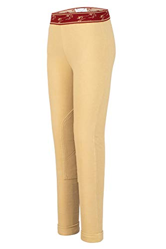 TuffRider Kid's Cotton Schooler Jods, Light Tan, ()