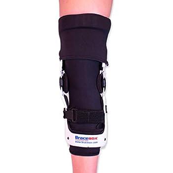 Bracesox Knee Brace Undersleeve - Cotton/Lycra - Large