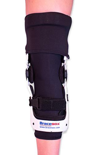 Bracesox Knee Brace Undersleeve – Cotton/Lycra – Medium