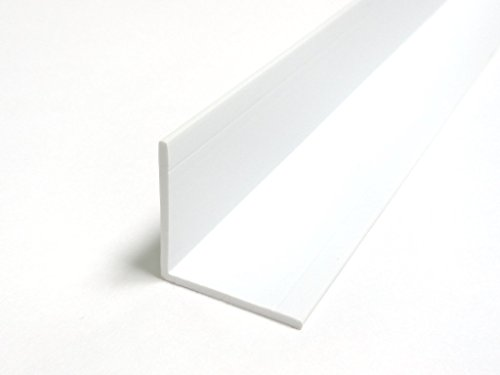 Wall Corner Guard Protector Molding 8-ft Length White