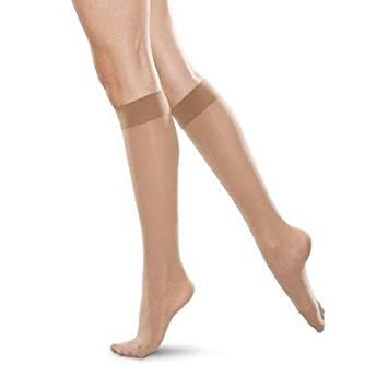 0ca0fc4c9f1 Image Unavailable. Image not available for. Color  Women s Mild Support  Sheer Knee High ...