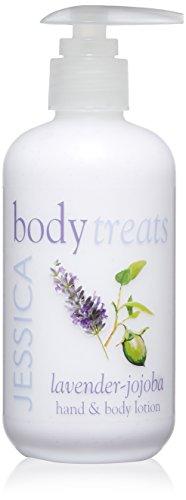 Jessica Body Treats Hand And Body Lotion, Lavender Jojoba, 8.3 Fl Oz