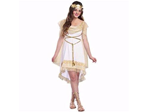 Juniors Girly Goddess Dress and Headpiece Size S (5-7)