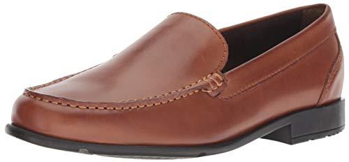 Rockport Men's Classic Lite Venetian Slip-On Loafer- Cognac(Dark Brown)-14  M